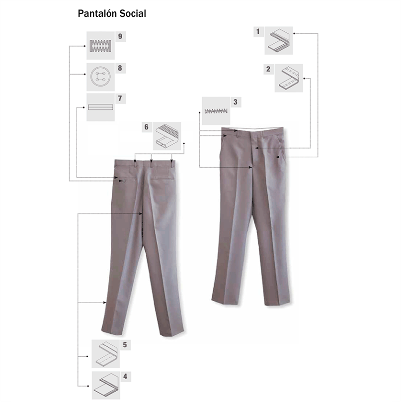 Pantalón Social